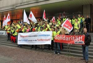 Solidarität für die Karstadt-Beschäftigten