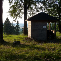 Schutzhütte auf dem Schanzerkopf