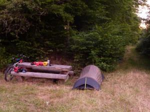 20140623_214506 Schlafplatz im Hahnenbachtal