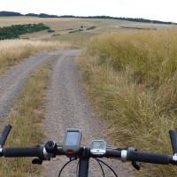 Hügellandschaft zwischen Kirn und dem Donnersberg
