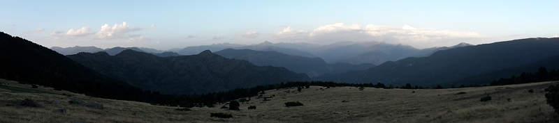 Panorama vom Rifugi dels Rasos